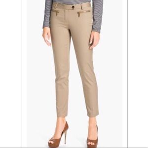 Michael Kors Khaki Ankle Pants